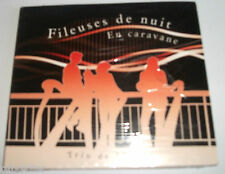 EN CARAVANE - FILEUSES DE NUIT - TRIO DE HARPES   CD 11 TITRES   RARE