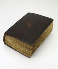 Rare Ethiopian Coptic Bible hand written in Ge'ez on vellum 19thC
