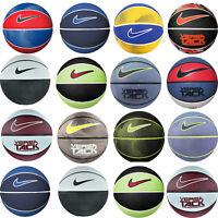 Nike Basketball Rubber Ball Netball Outdoor Training Basket Balls Size 3 5
