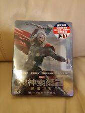 Thor 2 Bluray Steelbook, Taiwan version, New/Sealed