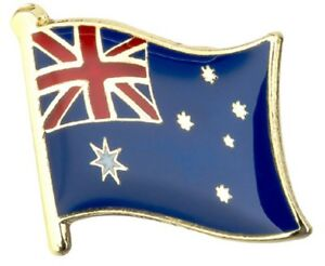 Australia Flag Australian Pin Lapel Badge Aussie High Quality Gloss Enamel