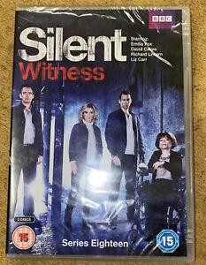 Silent Witness Series Eighteen New & Sealed