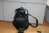 Fotocamera Canon EOS 1300d reflex digitale + obiettivo 18-55 SOLO 2600 SCATTI
