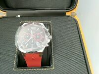 AZTORIN Sport Discovery Quartz A064.G314 Mens Watch RED/BLACK DIAL Red band