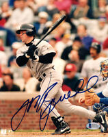 JEFF BAGWELL SIGNED AUTOGRAPHED 8x10 PHOTO HOUSTON ASTROS LEGEND BECKETT BAS