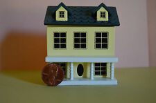Miniature Doll's Dollhouse Yellow in 1:12 doll scale
