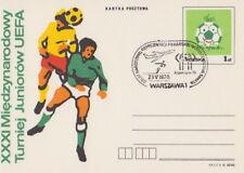 Poland postmark WARSZAWA - sport football FIFA World Cup 1978