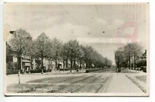 Groenezoom Rotterdam Netherlands Nederland Real Photo Postcard Stamp 1943