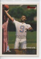 1995 BOWMAN STEVE McNAIR ROOKIE