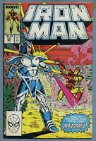 Iron Man #242 (1989) [Mandarin] Marvel j