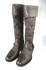 LUXUS BELSTAFF STIEFEL SCHUHE TRIALMASTER WAX BROWN NEU NEW 37 37,5