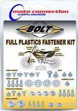 KTM EXC 125 250 300 08-10 Kit de carrocería tornillos/sujetadores plásticos
