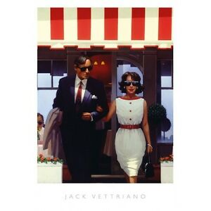 "Jack Vettriano ""Lunchtime Lovers"" Quality Print"