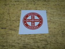 Schwinn Approved Red Seat Tube Bicycle Decal Hollywood Typhoon & Lightweight