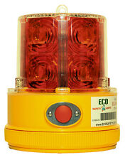 12x P24LM RED Beacon Truck Trailer Boat Portable 24 LED's Warning Safety Light