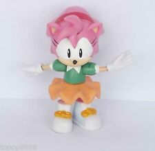 "#Wz6~ Sonic The Hedgehog  Amy action Figures 2.5"""