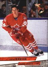 1993-94 Fleer Ultra #465 Paul Kariya - NM-MT TEAM CANADA  + HOCKEY DRAFT Card