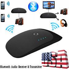 Wireless Bluetooth 3.5mm Audio mini Long Range Transmitter Reciever Transceiver