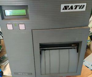 Sato Model CL-412e Industrial Barcode Label Thermal Printer