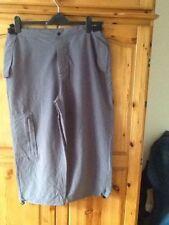 Calf Length Cotton Blend Trousers for Men