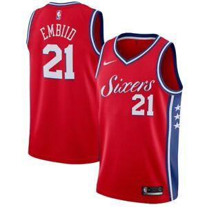 Brand New Philadelphia 76ers Joel Embiid Nike Statement Edition Swingman Jersey