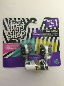 Hasbro Littlest Pet Shop Special Collection Black & White Bear Cubs Series 1 NEW