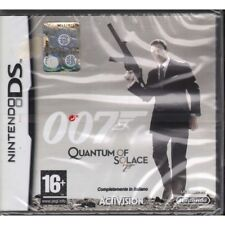 James Bond Quantum Of Solace Videogioco Nintendo DS NDS Sigillato 5030917056451