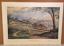 Old Richmond on the James Limited Edition Print Paul McGehee 1996 Romantic Sout