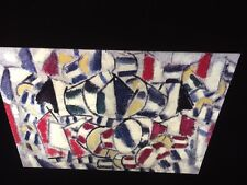 "Fernand Leger ""Variation Of Formes "" 35mm French Cubist Modernist Art Slide"