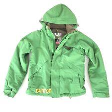 Burton DryRide Jacket Ski Snow Snowboard Youth Size Medium (7-8) Green 25U