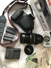 Canon EOS 20D Digital SLR Camera Kit w/ EF-S IS USM 17-85mm Lens and Accessories