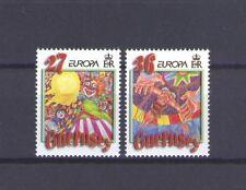 GUERNSEY, EUROPA CEPT 2002, CIRCUS THEME, MNH