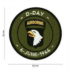 Morale Patch D Day 101  Airborne embroired Overlord 7106