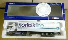 Corgi CC12204 Scania Fridge Trailer Norfolkline Ltd Edition No. 0003 of 2200