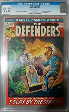 Marvel Feature #1 CGC 9.2 1971 1st Defenders! Hulk! Dr. Strange! CVA! K7 124 cm