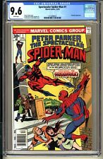 SPECTACULAR SPIDER-MAN #1  CGC 9.6 WP NM+  Marvel Comics 1976  Sal Buscema