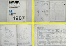 Yamaha 2B 2H - 140 AETO Außenbordmotoren Wartungsdaten 1987