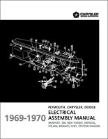 1969-1970 Fury Polara Monaco Electrical Assembly Manual Wiring Dodge Plymouth