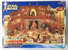 Star Wars Attack of the Clones Geonosis Battle Arena Playset Hasbro 2002