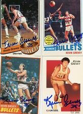 Washington Bullets Kevin Grevey signed 1978 Topps card