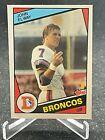 1984 Topps John Elway Rookie Card RC #63 - Broncos - HOF 2004