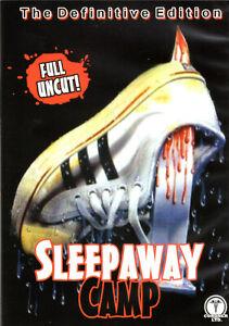 Sleepaway Camp , 100% uncut ,DVD ,UK Region , Blutiger Sommer , Camp des Grauens