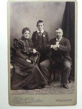 Large Victorian Carte De Visite CDV Cabinet Photo  - Preston - Penzance