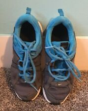 Nike Dart 10 Size 3 Youth Blue Gray White 580445-008 Athletic Sneaker Running