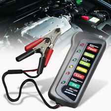 12V Vérificateur d'Alternateur Testeur Batterie 6 LED Indicateur Numérique Auto