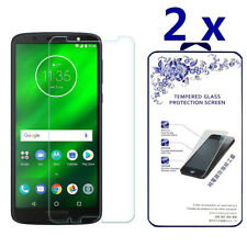 2-Pack For MOTO G6 Plus 2018 Tempered Glass Screen Protector