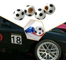 Lot de 4 bouchons de valve Ballon de football - Auto, Moto, Vélo - Club, équipe
