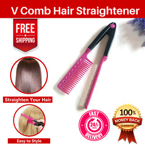 Hair Comb Hairdressing Professional Styling Beard Straightener Salon Wide Tool