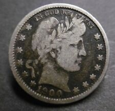 ETATS-UNIS , USA - HALF DOLLAR 1900 - BARBER - Argent