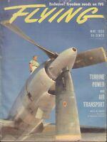 Flying Magazine P&W T-34 Turbo Prop Engine Lockheed May 1955 020418nonr